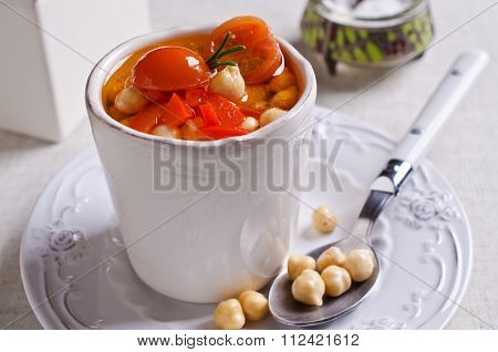 Clear Soup With Vegetables