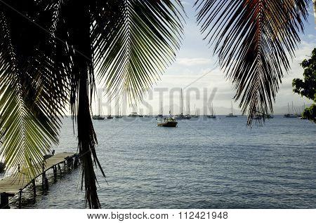 France, Martinique, The Village Of Sainte Anne