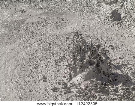 Geyser Basin Sol De Manana, Bolivia