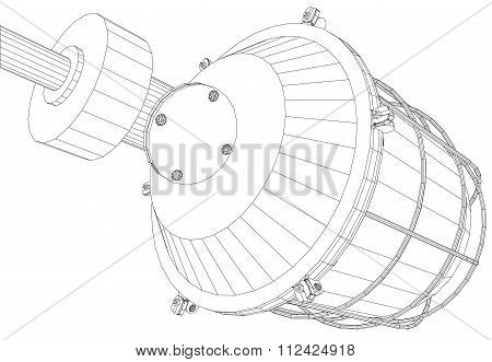 Picture of heat exchanger