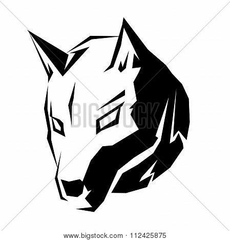 Dog Head Symbol