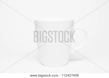 Coffee Cup Isolated On White.