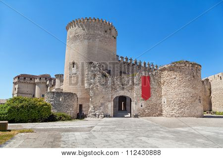 Cuellar Castle, Castile And Leon, Spain