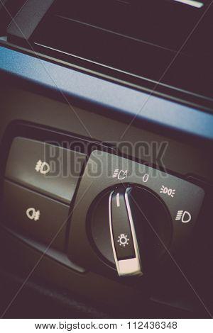 Car Headlight Switch