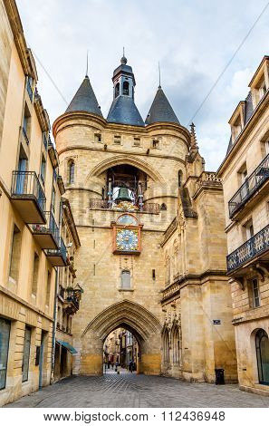 Porte Cailhau In Bordeaux - France