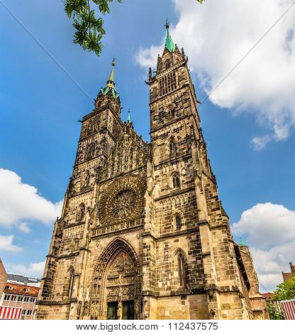 St. Lorenz Church In Nuremberg - Germany, Bavaria