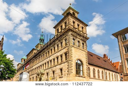 The Old Town Hall Of Nuremberg - Germany