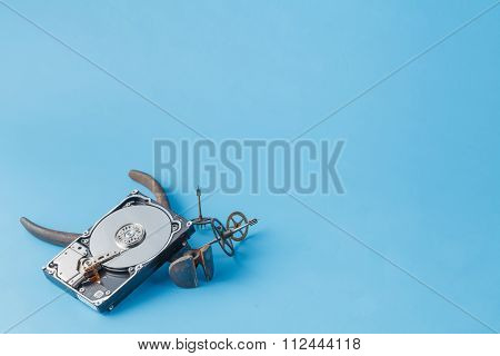 Tools For Repair Hdd And Open Disk