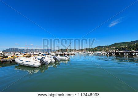 Lerici Port - La Spezia Italy