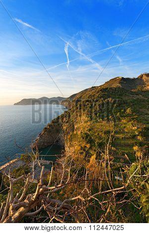 Ligurian Coastline - Cinque Terre Italy