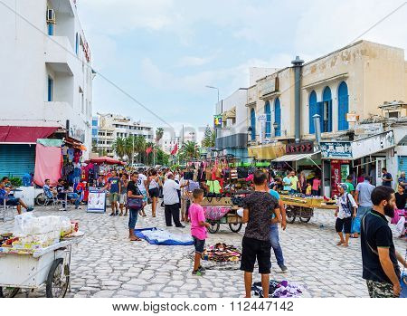 The Spontaneous Market In Sousse