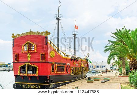 The Red Warship In Sousse