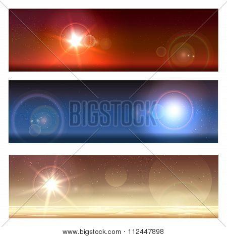 Cosmic Landscapes Set