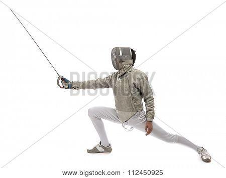 Fencing Athlete
