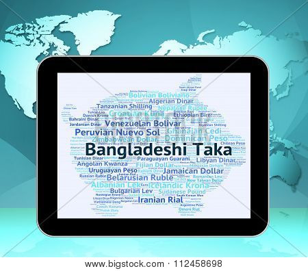 Bangladeshi Taka Means Foreign Currency And Broker