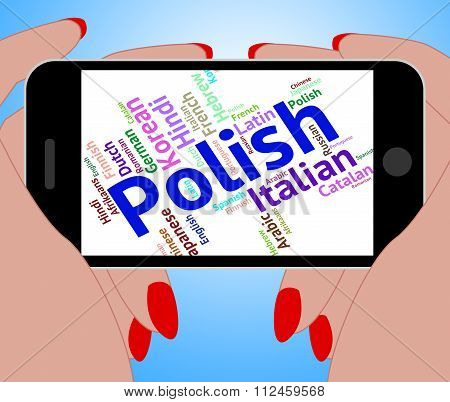 Polish Language Means Foreign Dialect And Poland