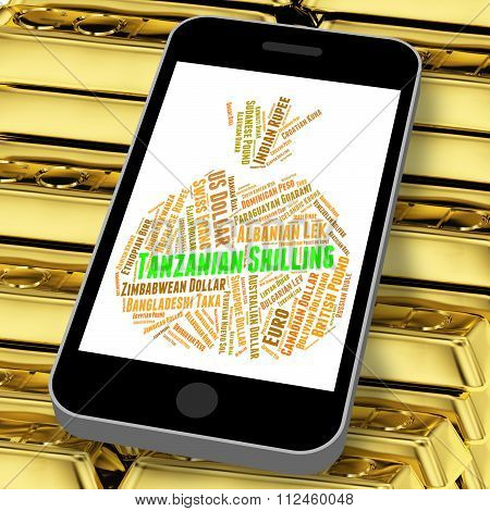 Tanzanian Shilling Indicates Foreign Currency And Currencies