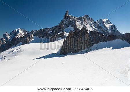 Mont Blanc - Dent Du Geant