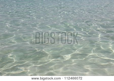 Clear Water Of The Mediterranean Sea Nissi Beach In Ayia Napa