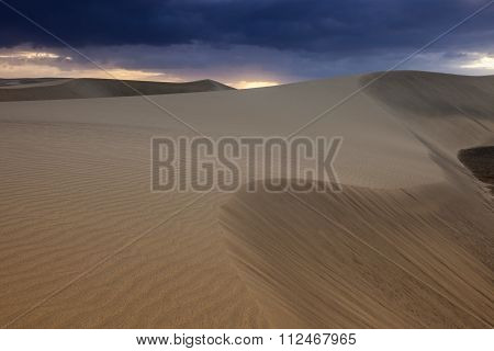 Sand Dunes In  Maspalomas