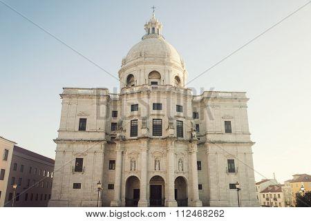 National Pantheon - Church Of Santa Engracia In Lisbon