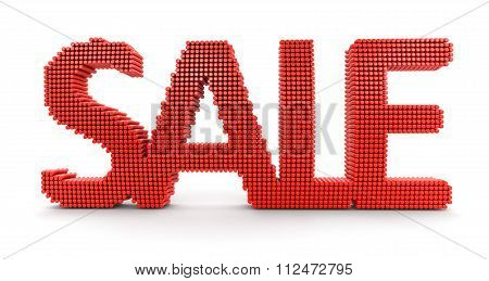 Sale. Image with clipping path