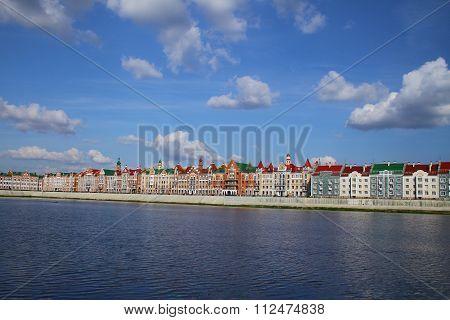 Embankment Bruges in Yoshkar-Ola