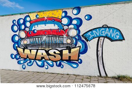 Car Wash Graffiti