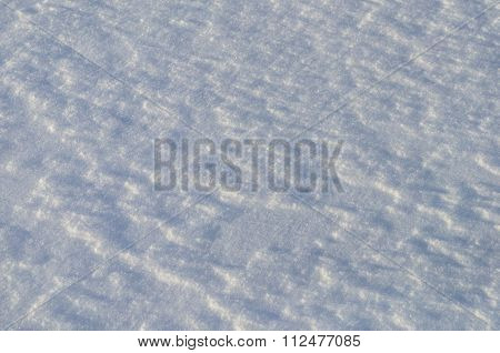 Texture Of Weathered Snow Surface