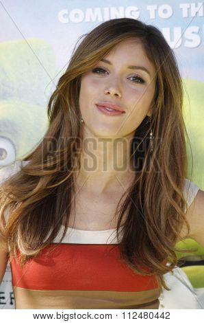 Kayla Ewell at the Los Angeles Premiere of
