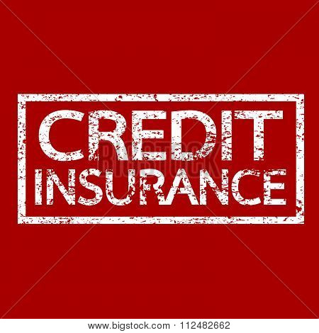 an images of illustration Credit Insurance text Insurance word