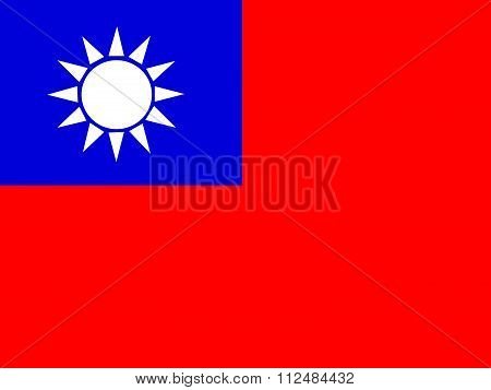 Flag of the Republic of China Taiwan Flag
