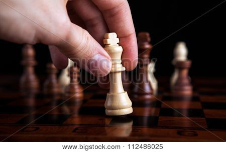 Chess Game King Move