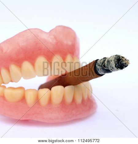 Anti smoking concept