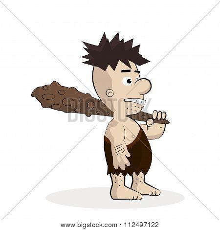 Caveman Cartoon Character