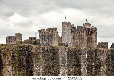 Caerphilly Castle South Wales
