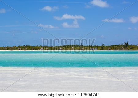 Tropical beach in Cayo Largo island