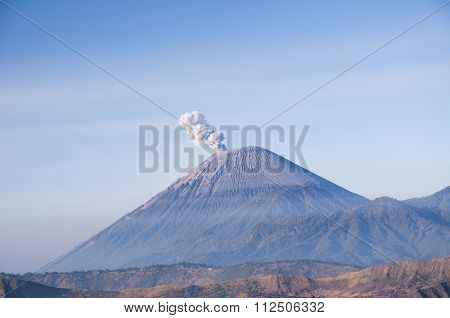 Mount Semeru, East Java Indonesia.