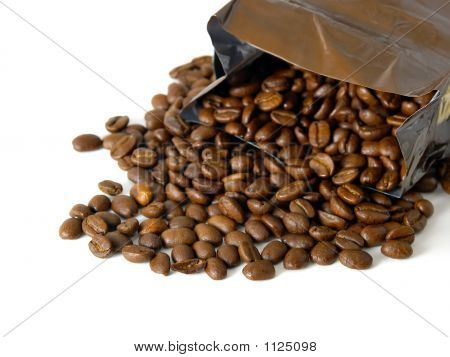 Coffee Beans & Bag