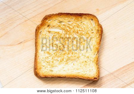 Toasted Toast For Background