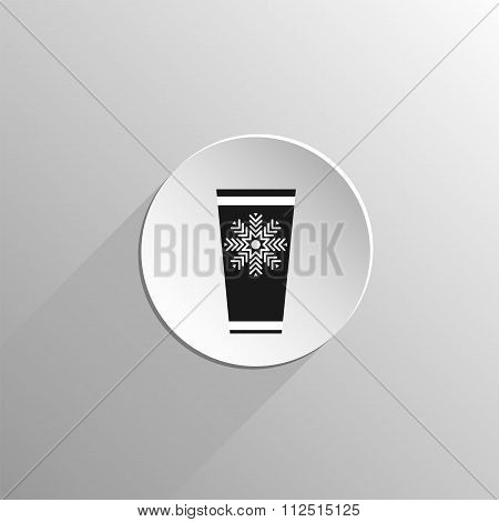 Paper Cup With Cold Drink