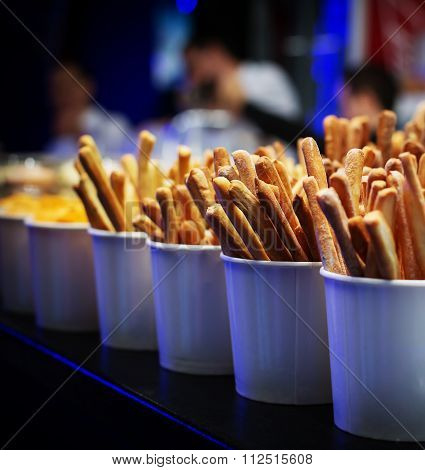 Breadsticks Beer Snack