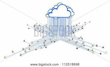 Cartoon Crowd, Link Cloud