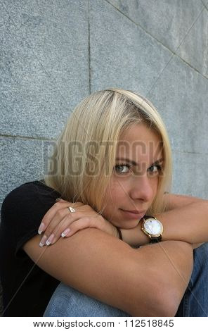 Woman With Ironic Gaze