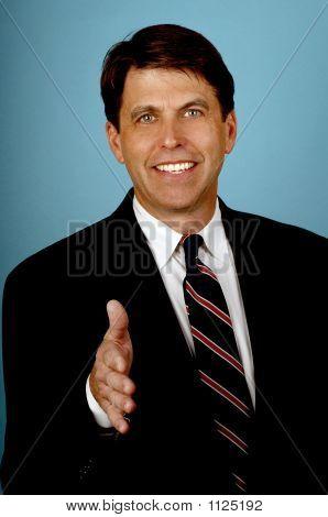 Salesman With A Big Smile