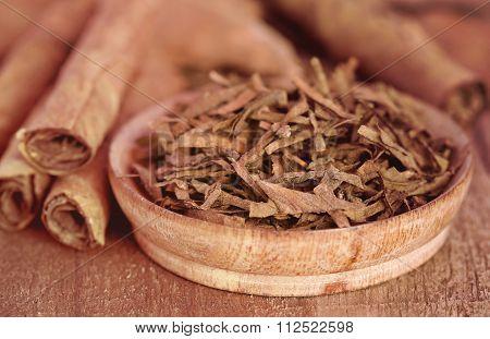 Dry Tobacco Leaves