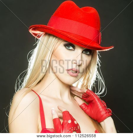 Sexual Cowboy Woman
