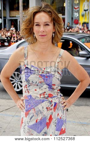 HOLLYWOOD, CALIFORNIA - June 12, 2011. Jennifer Grey at the Los Angeles premiere of