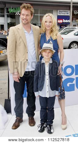 James Tupper and Anne Heche at the Los Angeles Premiere of