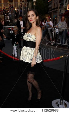 DISNEYLAND, CALIFORNIA - May 7, 2011. Eliza Dushku at the World premiere of